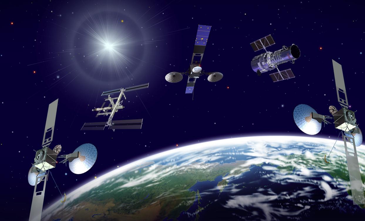 nasa satellite tracker - 1243×754
